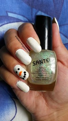 Aradia's blog: Snowman nails