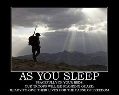 """""""Oh, beautiful for heroes proved In liberating strife, Who more than self their country loved, And mercy more than life!""""  May we often, in solemnity and gratitude, pause to remember and pray for the courageous soldiers of our Armed Forces—who valiantly serve """"to defend [t]his people, [our] rights, country, and religion, even to the loss of [their] blood"""" (see Alma 48:11-13; the Book of Mormon, Another Testament of Jesus Christ). They deserve our deep respect, admiration, and sincere thanks."""