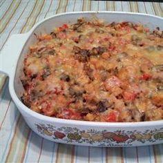 Cheesy Eggplant Casserole Recipe