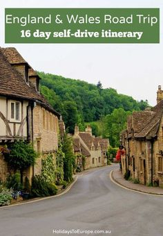 England and Wales road trip itinerary | A 16 day self-drive itinerary for exploring the best of England and Wales.