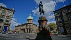 Burns Monument, Bernard St, Edinburgh