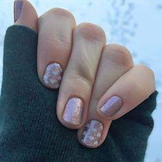 Love this combo!!  Jamberry Rose Gold Sparkle and Pop Heart #rosegoldsparklejn #popheartjn