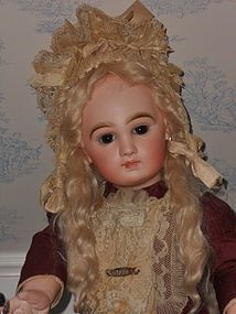 Outstanding French Bisque Bebe by Emile Jumeau - WhenDreamsComeTrue #dollshopsunited