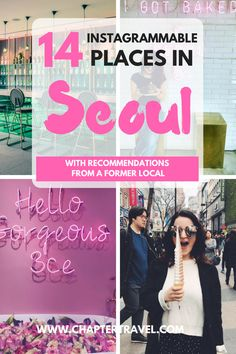 Check out these Instagrammable places in Seoul, South Korea! Seoul is a very photogenic city with lots of great spots to explore. This list includes temples, palaces, restaurants, cafes, shops, architectural masterpieces in Seoul that should be explored during your visit! #Seoul #BestofSeoul #SouthKorea