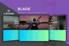 Blade - Business Tumblr Theme. Tumblr Themes