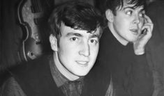 Find images and videos about the beatles, john lennon and Paul McCartney on We Heart It - the app to get lost in what you love. Love John Lennon, John Lennon Paul Mccartney, Beatles Photos, The Beatles, Bug Boy, Indie Boy, The White Album, Teddy Boys, Lonely Heart