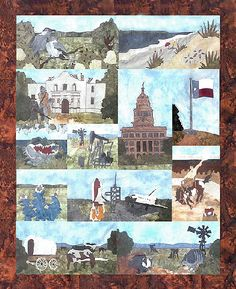 State of Texas quilt pattern Texas Quilt, All Block, American Quilt, House Quilts, God Bless America, Texans, Applique Quilts, Quilting Projects, Quilt Blocks
