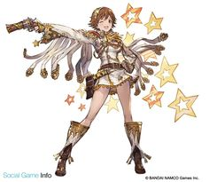 View an image titled 'Mio Honda Art' in our Granblue Fantasy art gallery featuring official character designs, concept art, and promo pictures. Female Character Design, Character Design References, Character Design Inspiration, Character Concept, Character Art, Concept Art, Girls Characters, Fantasy Characters, Female Characters