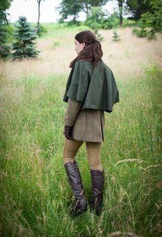 Mehr Grüne Hose, Klassische Mode, Elegante Kleidung, Britischer Stil,  Kniehohe Stiefel, 736770de3e
