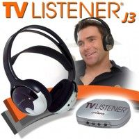 how to listen to tv wireless