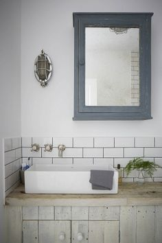 A Simple bathroom designed by Paul Massey and Mark Lewis