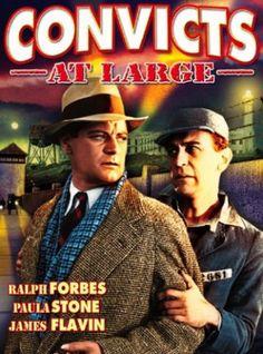 Convicts at Large (Scott E. Beal, David Friedman) - 1938 USA - Ralph Forbes