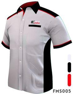 Fms005 F1 Shirts Male Short Sleeve White