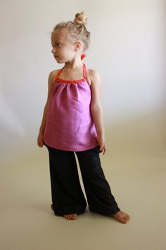 30 - minute summer halter / pdf sewing pattern sz 12m to 14/16 / instant download on Etsy, $8.80 AUD
