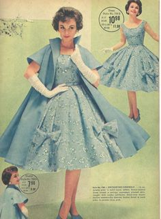 Need excellent hints on women's fashion? Head out to our great website! Fifties Fashion, 50 Fashion, Fashion History, Retro Fashion, Vintage Fashion, Fashion Outfits, Vintage Outfits, 1950s Outfits, Vintage 1950s Dresses