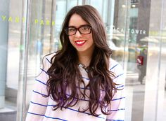 Hair chalk Dos and Don'ts from Glamour beauty assistant Julianne Carell