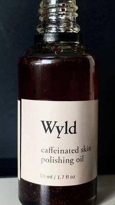 "Kat Ignatzek on Instagram: ""I'm using @wyldstudio •Caffeine Skin Polishing Oil •Blue Chamomile Toner"" Skin Polish, Caffeine, Whiskey Bottle, Perfume Bottles, Oil, Blue, Instagram, Perfume Bottle"