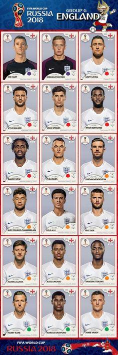 England World Cup Russia 2018 England Football Players, England National Football Team, England Players, National Football Teams, World Football, Soccer World, Best Football Team, Football Icon, 1966 World Cup