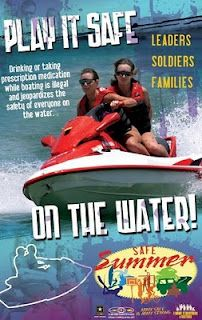 Summer Safety - Play it Safe On the Water