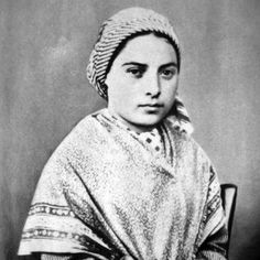 185814-year-old Bernadette Soubirous, a French miller's daughter, claims to have seen an apparition of the Virgin Mary at Lourdes.