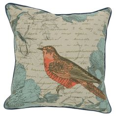 I pinned this Paradee Pillow from the Beautiful Bedroom event at Joss and Main!