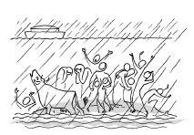 Annie Vallotton - Good News Bible Good News Bible, Bible Illustrations, Doodle Lettering, Catholic Prayers, Stick Figures, Bible Art, Annie, Spirituality, Bible Studies