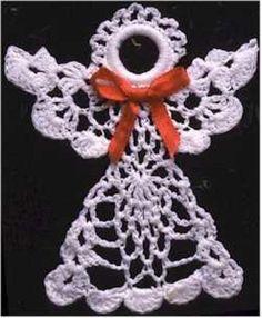 LACY ANGELS SET CROCHET PATTERN   -BY MAGGIE WELDON DESIGNS   $7.99 $7.19