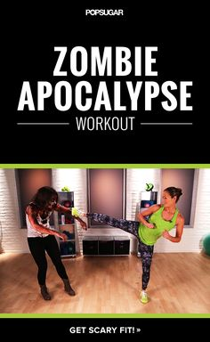 Get ready to fight the undead with this zombie workout.