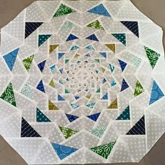"It looks like a pattern from the book ""Paper Pieced Modern"" by Amy Garro"