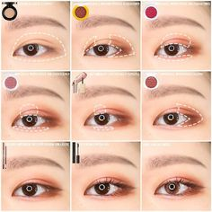korean makeup looks Korean Makeup Look, Korean Makeup Tips, Asian Eye Makeup, Korean Makeup Tutorials, Tips Belleza, Perfect Makeup, Simple Makeup, Makeup Trends, Makeup Eyeshadow