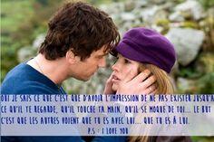 Citation film d'amour, P.S. I LOVE YOU