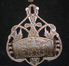 Vintage Cast Iron Match Stick Holder