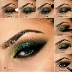 Smokey Emerald Eye Tutorial