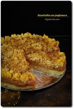 Gluten-free apple pie with buckwheat groats Olga Smile Lunch Recipes, Cake Recipes, Cooking Recipes, Healthy Recipes, Gluten Free Apple Pie, Eat Happy, Polish Recipes, Pumpkin Cheesecake, Food Cakes