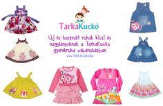 Second hand and new kids clothes at www.tarkakucko.hu