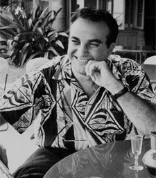 Alfred Shaheen, one of the major popularizers of aloha shirts