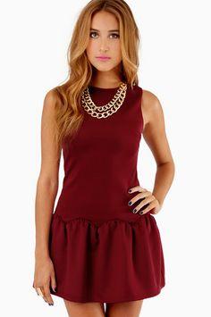 Ruffled Belle Dress ~ TOBI $54