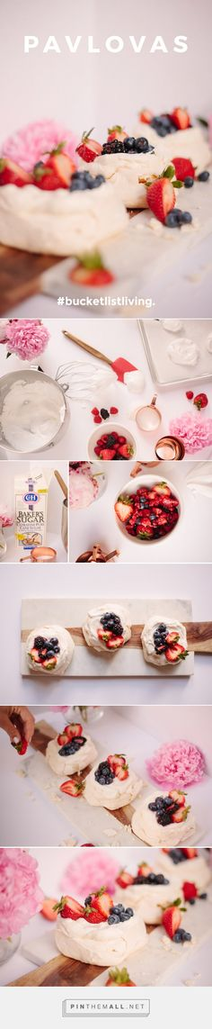 Easy Pavlovas Recipe — Bucket List Living