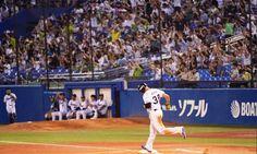 Carlos Rivero sacudió su primer cuadrangular en el béisbol japonés #Beisbol #Deportes
