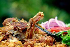 Receta para arroz con pollo