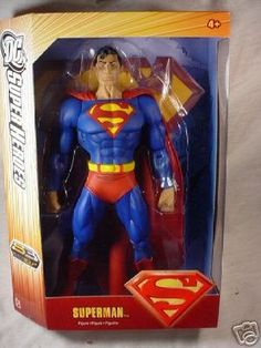 DC Super Heroes Superman S3 Select Sculpt 12in Action Figure @ niftywarehouse.com
