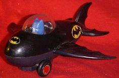 Batman Batplane Azrak Hamway International Inc 1974 ©DC Comics ahi Vintage Toy | eBay