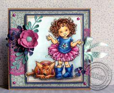I Dunno (redux) (Mo's Dream Team) Mo Manning, Penny Black, Card Making Inspiration, Digi Stamps, Dream Team, Flower Cards, My Love, Artist, Card Ideas