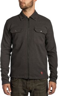 Ideal for city riding, the Ike Windshirt provides breathable, wind-stopping performance with a wool-like polyester blend that can be worn comfortably all day long. Street Trends, Nice Dresses, Chef Jackets, Cool Outfits, Chrome, My Style, Mens Tops, How To Wear, Shirts