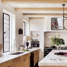 100 best oak kitchen cabinets ideas decoration for farmhouse style (80)