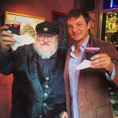 Oberyn and Georges R. Martin