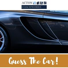 >>> CAR EXPERTS <<< Can you guess what car this is?????? Put your answers in the comments below.............. _ _ _ _ _ _ _ _ _ _ _ _ _ _ _ _ _ _ _ _ _ _ _ _ _ _ _ _ Acton Coachworks is a supercar and prestige vehicle bodyshop in London. Need a repair quote? Click the link in our bio now to request a quote from us.