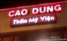 horrible name for a restaurant ...lol