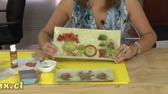 Refurbish An Old Piece Of Furniture With Silver Leaf Sheets Diy Craft Projects, Craft Tutorials, Projects To Try, Decoupage Glass, Decoupage Art, Handmade Crafts, Diy And Crafts, Paper Crafts, Decoupage Tutorial
