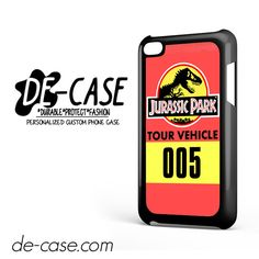 Jurassic Park Tour Vehicle For Ipod 4 Ipod Touch 4 Case Phone Case Gift Present YO